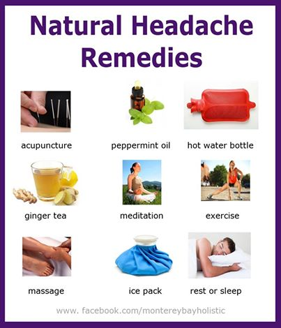 Nature Remedy For Headache